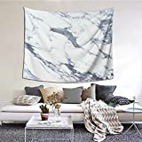 Tapiz de Pared,Antique Marble Textured Ocean Style Organic Granite Rock Formation Art Tapestry (Colgante de Pared)Decoración de Pared Mural del hogar para Dormitorio Sala de Estar 152cmx130cm