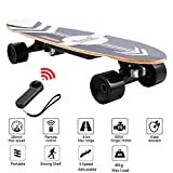 Nesaila 28inch Electric Skateboard 20 KM/H Top Speed, 350W Singal Motor,7...