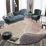 YAOUK2BZ Simple Chaise D'Ordinateur Moderne Coussin Chambre Salon Vestiaire Chambre Tapis Rond Antidérapant Confortable-200 Cm De Diamètre