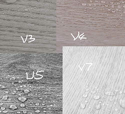 Euroharry Vinylboden -Vinyl-PVC Laminat Dielen, Bodenbelag, Rutschfest, Wasserfest, Schwer Entflammbar, Schimmelbeständig, für Küche, Bad, Flur oder Wohnzimmer, 8 Dekors wählbar (Musterbuch)