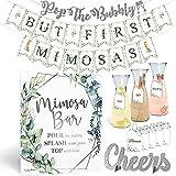 Elegant Mimosa Bubbly Bar Kit - Black and...