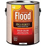 1 gal Flood FLD823 Cedar PRO-SOLID Solid Color Acrylic Stain Pack of 1