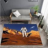 HUABUDAYIN Espacio Triste Astronauta sueño Nave Espacial...