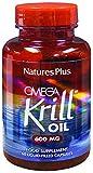 NaturesPlus Omega Krill Oil - 600 mg, 60 Capsules - 60 Servings