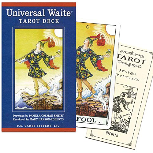 [Bright Rider Tarot card] T0104 Universal Wait Tarot Deck (japan import)