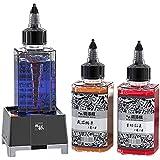 Agitatore Elettrico Per Vernice Modello Fai-da-te, Mini Miscelatore Per Diluizione Della Vernice a Turbina Magnetica Con 3 Bottiglie Da 100 Ml