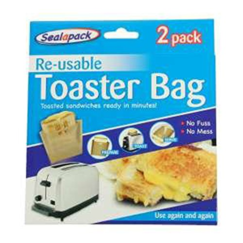 2 x Reusable Toaster Bag Toasted Sandwiches by 151 Products LTD