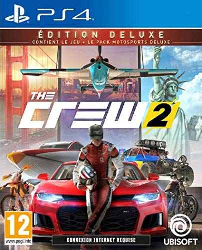 The Crew 2 Edition Deluxe Ps4 - Version Française