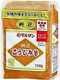 純正こうじみそ 750g /マルサン(2袋)