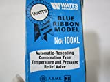 Self-Closing 3/4 Inch (20 mm) Temperature and Pressure Relief Valve 100XL-150 Psi, 0066100
