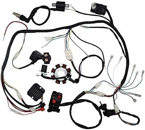 Qauick Complete Wiring Ranking TOP2 Harness kit Electrics Philadelphia Mall Loom Wire Stator Co