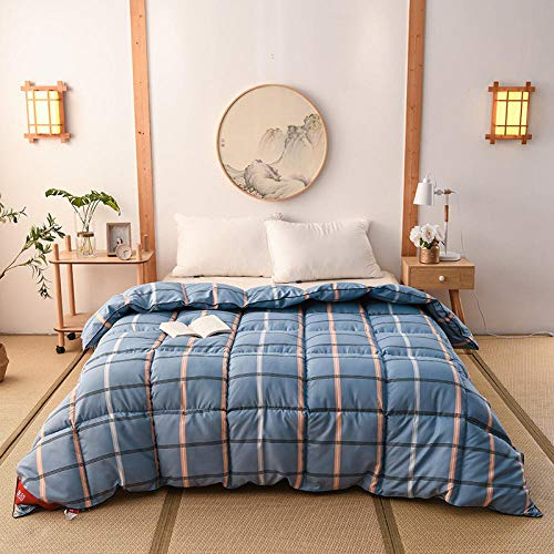 CHOU DAN toddler duvet and pillow,Two-in-one home textile quilt two-in-one quilt seven-hole winter quilt winter thick warm air-conditioning quilt dorm quilt core,200x230cm eight catties