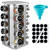 Best Spice Racks - DEFWAY Free Standing Spice Racks - Stainless Steel Review