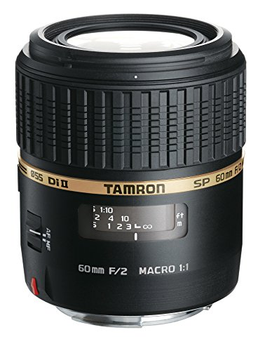 Tamron AF 60mm f/2.0 SP DI II LD IF 1:1 Macro Lens for Nikon Digital SLR Cameras (Model G005NII)