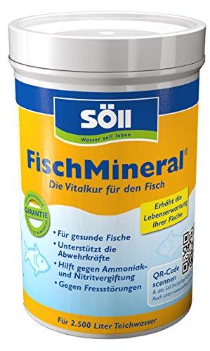 Söll 15232 FischMineral - Die Vitalkur für den Fisch - 250 g