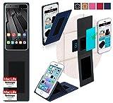 Hülle für Oukitel U7 Plus Tasche Cover Case Bumper | Blau