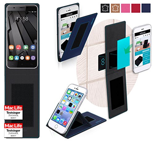 Hülle für Oukitel U7 Plus Tasche Cover Hülle Bumper | Blau | Testsieger