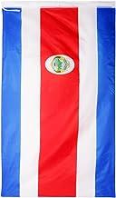 Fityle Bandera Nacional Hecho de Poliéster Durable 90 x 150cm Tamaño Grande - Costa Rica