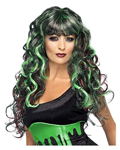 Perruque Siren violet vert