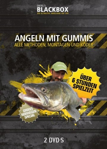 Fishpipe GmbH (Blackbox Fishing) Angeln mit Gummis - alle Methoden, Montagen und Köder (2 DVD)
