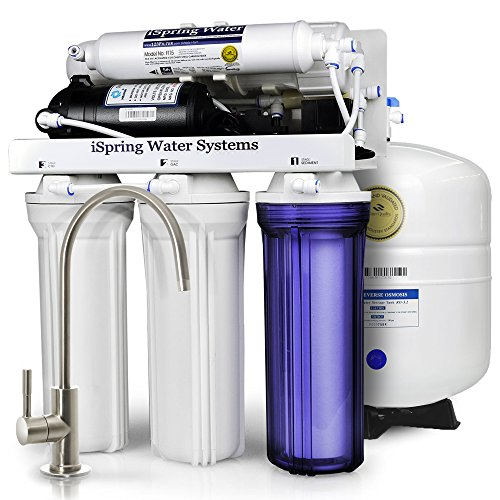 iSpring RCC7P Reverse Osmosis System with Pump