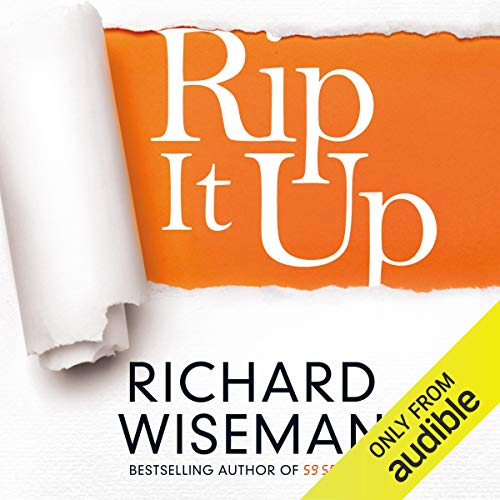 Rip It Up Audiobook By Richard Wiseman cover art
