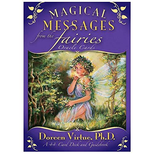 44 Piezas de Mensajes mágicos de Las Cartas del Tarot de Las Hadas, Naipes para Fiestas Familiares, baraja, Cartas de Tarot, Juegos de Mesa