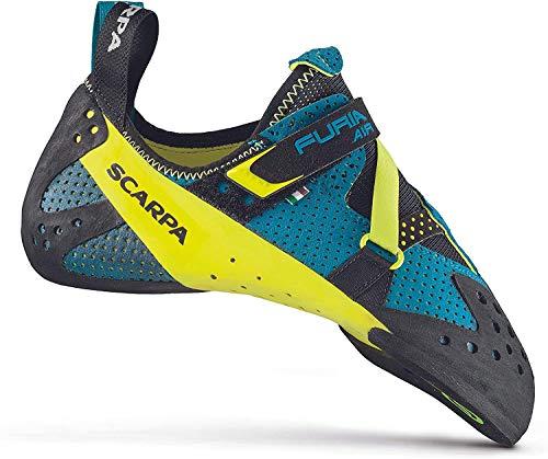 Scarpa Furia Air Kletterschuhe Baltic Blue/Yellow Schuhgröße EU 44 2020 Boulderschuhe