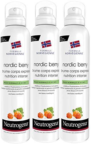 Neutrogena Nordic Berry Express Nutri Intense Spray (Juego De 3) - 200ml.