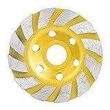 JIAN LIN 100mm / 4in Diamond Miding Wheel Subir Sanding Circular Fresado Cortar Discos Círculos Rotary Herramienta Afilador Accesorios