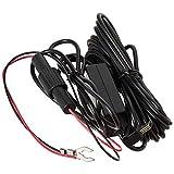 Transcend Hardwire power cable Black 4 m