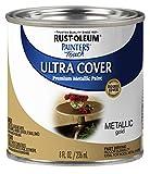 Rust-Oleum 240287 Painter's Touch Satin, HP, Half Pint, Metallic Gold,...