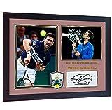 SGH SERVICES gerahmtes Poster Novak Djokovic Frankreich