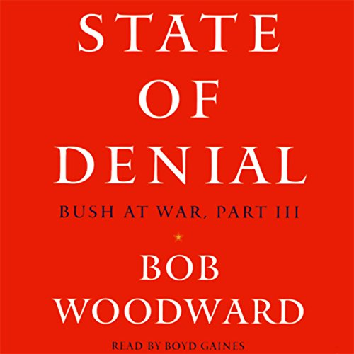 State of Denial audiobook cover art