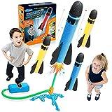 LET'S GO! Giocattoli Bambino 3 4 5 6 7 8 9 Anni, Giochi All'aperto per Bambini Razzo Spaziale Giocattolo Giochi Bambino 3-9 Anni Regali Bambina 3-11 Anni Giochi da Giardino per Bambini