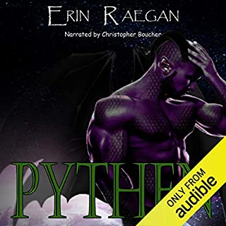 Pythen: An Alien War Romance audiobook cover art