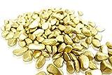 Brynnberg Dekosteine – Dekogranulat Kies Kieselsteine Flußkies gerundet (Gold, 4,5Kg) - 3