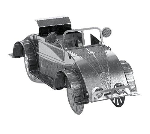 Fascinations Metal Earth MMS006 - 502453, Beach Buggy, Konstruktionsspielzeug, 1 Metallplatine, ab 14 Jahren