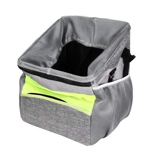 Sue-Supply Pet Dog Carrier Bag, Fahrrad Korb Vorne Abnehmbar Korb Pet Carrier, wasserdichte Fahrrad Gepäckträger Korb Faltbare Abnehmbare, Fahrradtasche vorne für Hund, Katze, 31×28×37cm