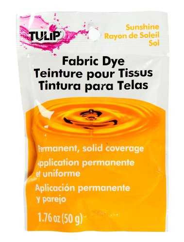 Tulip Sunshine, One-Color Permanent Fabric Dye