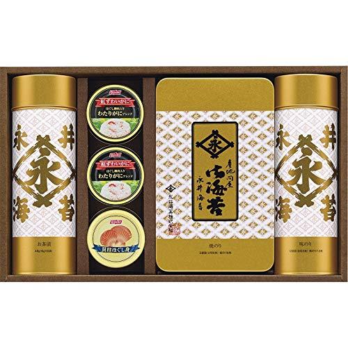 永井海苔 バラエティ詰合せ GX-50W 【ご飯のお供 海苔 定番 有名 詰め合わせ つめあわせ 日本産 国産 お取り寄せ グルメ おいしい 美味しい うまい】