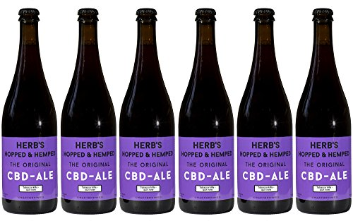CBD Hanfbier (box 6 x 750 ml) The Original CBD Ale - Craftbeer aus Amsterdam