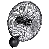 Tornado - 16 Inch Pro Series Oscillating Wall Mount Fan - High Velocity Heavy Duty Metal Wall Mount Fan for Industrial, Commercial, Residential, and Greenhouse Use - ETL Safety Listed