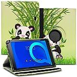 Tablet Hülle kompatibel für Alcatel 1T 10 Tasche Schutzhülle Hülle Schutz Cover 360° Drehbar 10.1 Zoll Etui, Farbe:Motiv 11