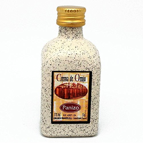 Licor crema de orujo en Panizo en miniatura 5cl(pack de 24 ud)