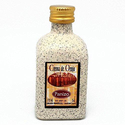 Licor crema de orujo en Panizo en miniatura 5cl(pack de 24