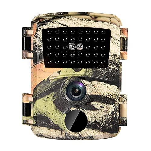 Pipix Mini cámara de vigilancia 12 MP 1080P con sensor impermeable, cámara deportiva, grabadora de campo (color aleatorio)