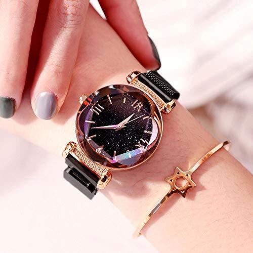 Vrouw Kijken Meisje van de Student Horloge Dames Bekijk Net Red Couple Fashion Watch Trend Waterproof Large Dial Quartz vrouwelijke horloge (Color : 5)