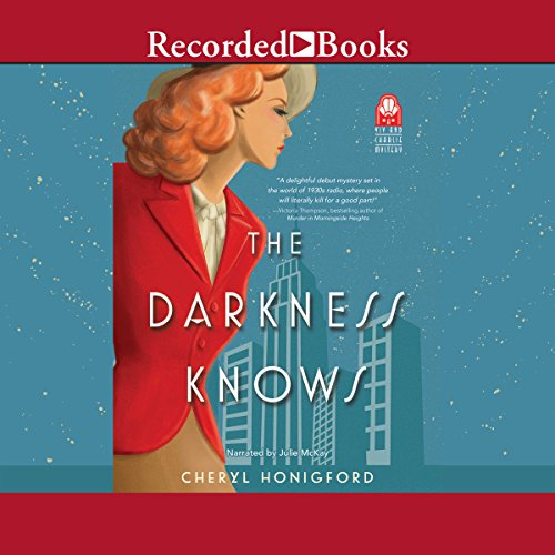 The Darkness Knows audiobook cover art