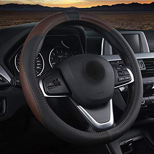 BHYUDYT Cubierta del Volante del automóvil, para Todos los Modelos Chrysler 300c...